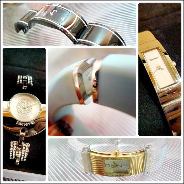 八支設計感手錶收藏(DKNY、CK、ALFEX)