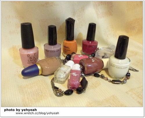 多款指甲彩繪貼和指甲油分享(Pastel, OPI, UNT比較)